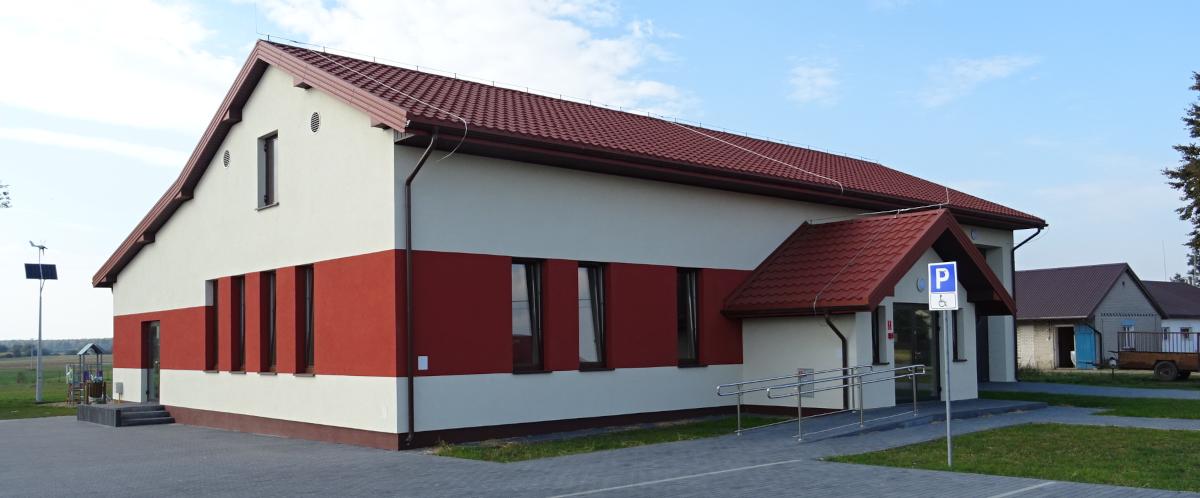 Zadanie: Rozbudowa świetlicy wiejskiej w Kopinie